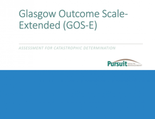 Glasgow Outcome Scale – Extended (GOS-E) Assessment